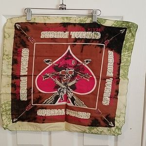 "Special forces hand dyed custom bandana 21"" new"